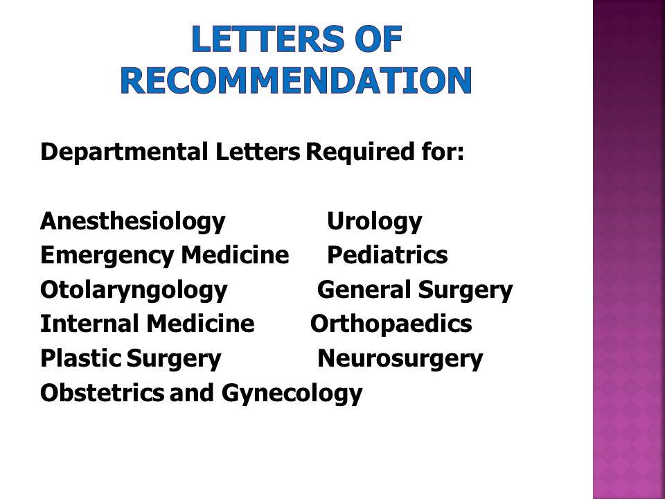 letterhead for letter of recommendation