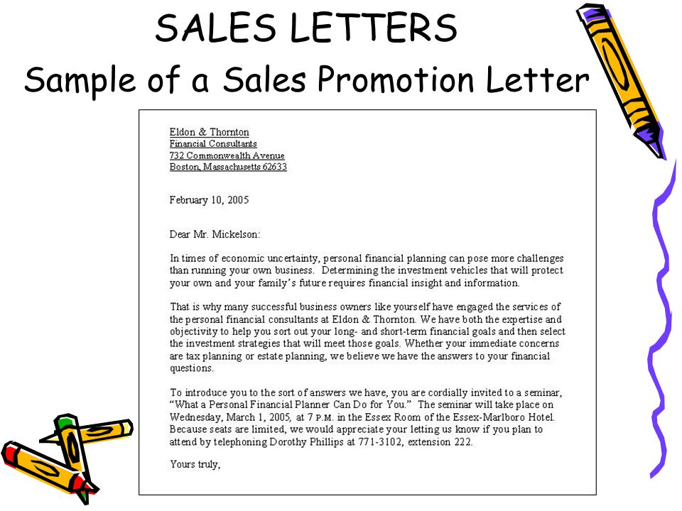 Sample Promotion Letter | colbro.co