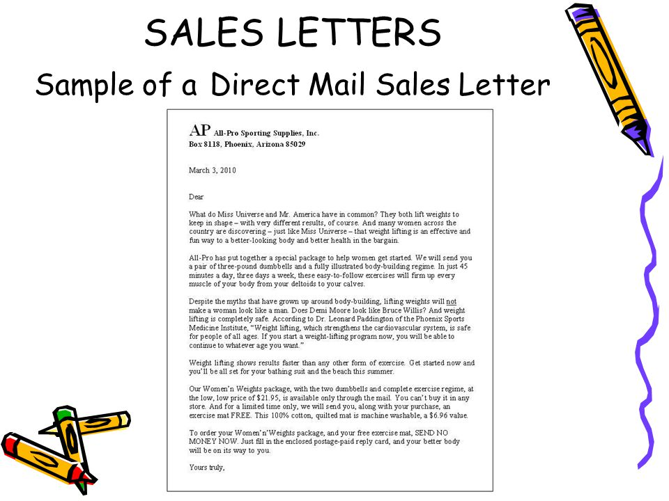 Write An Effective Direct Mail Letter