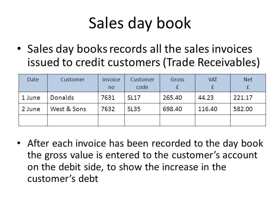what is sales invoice