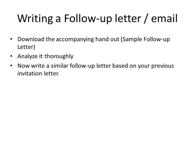 Follow up invitation email sample invitationswedd social interactions inviting responding to invitations ppt stopboris Choice Image