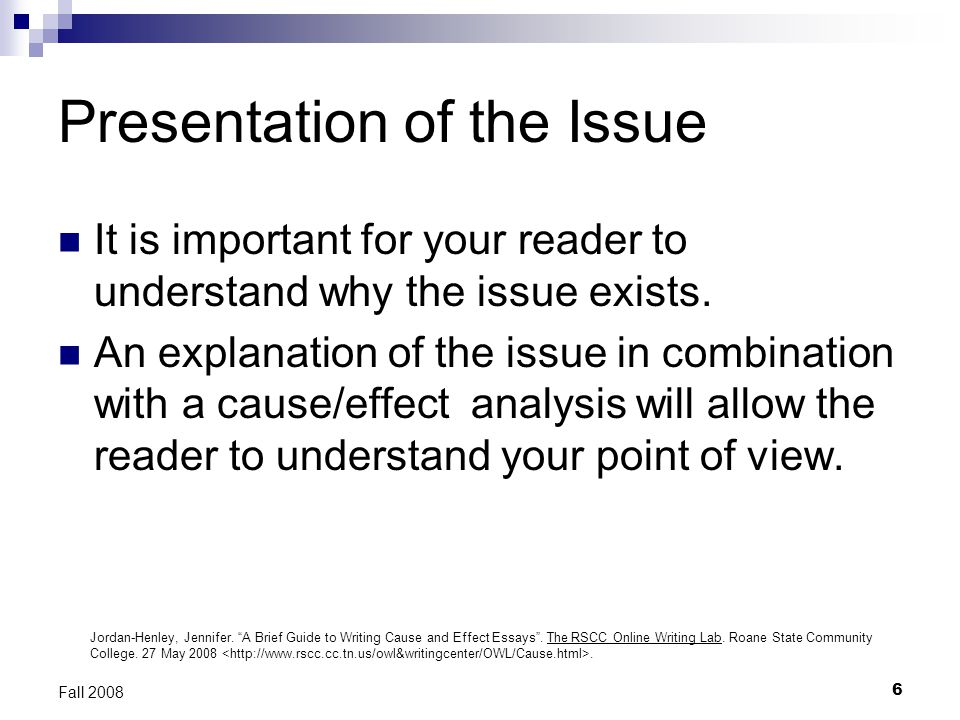 Writing Cause and Effect Essays - ppt video online download - essay reader online
