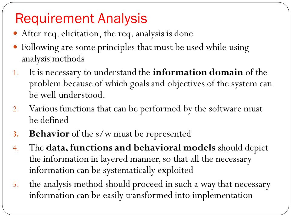 sample requirement analysis wtfhyd - sample requirement analysis