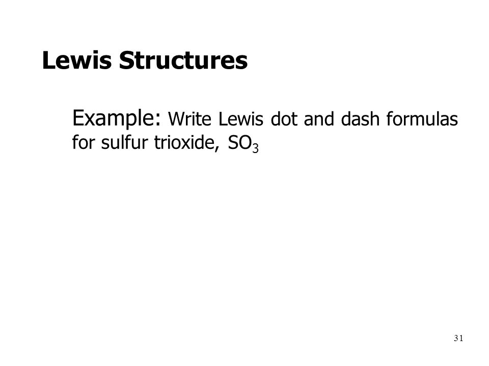 Write A Single Lewis Structure For So2 Show