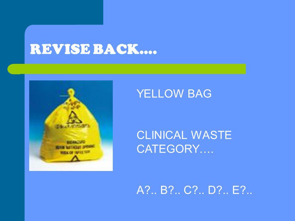 Clinical Waste Disposal Yellow Bags - Style Guru Fashion, Glitz - waste management ppt