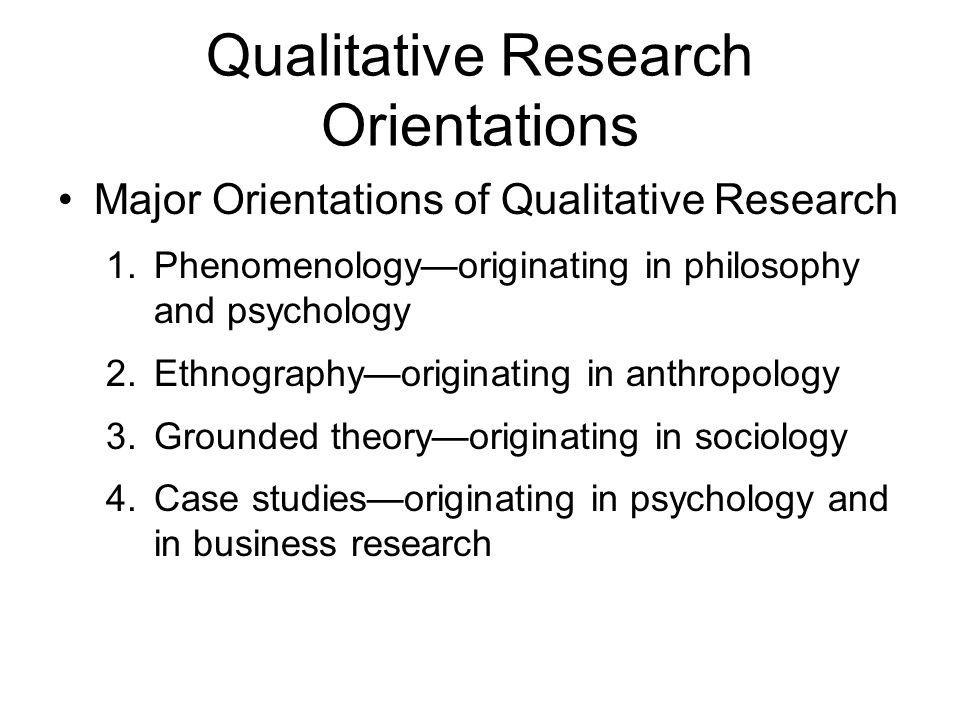 Start early and write several drafts about Phenomenological approach