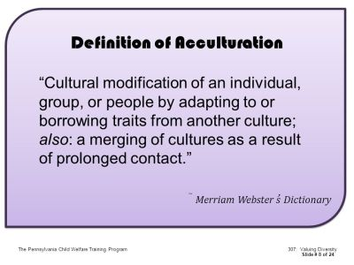 AGENDA THE CONCEPT OF CULTURAL DIVERSITY Culture Definitions - ppt video online download