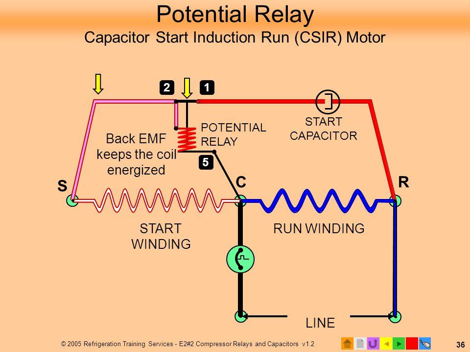 Refrigerator Hard Start Wiring Diagram Wiring Diagram