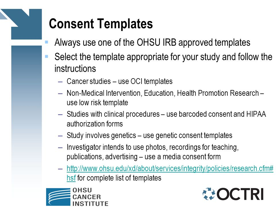 Research Consent Form Template informed consent process for