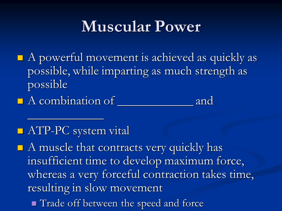 Muscular Strength Examples, Physical Fitness The capacity of the