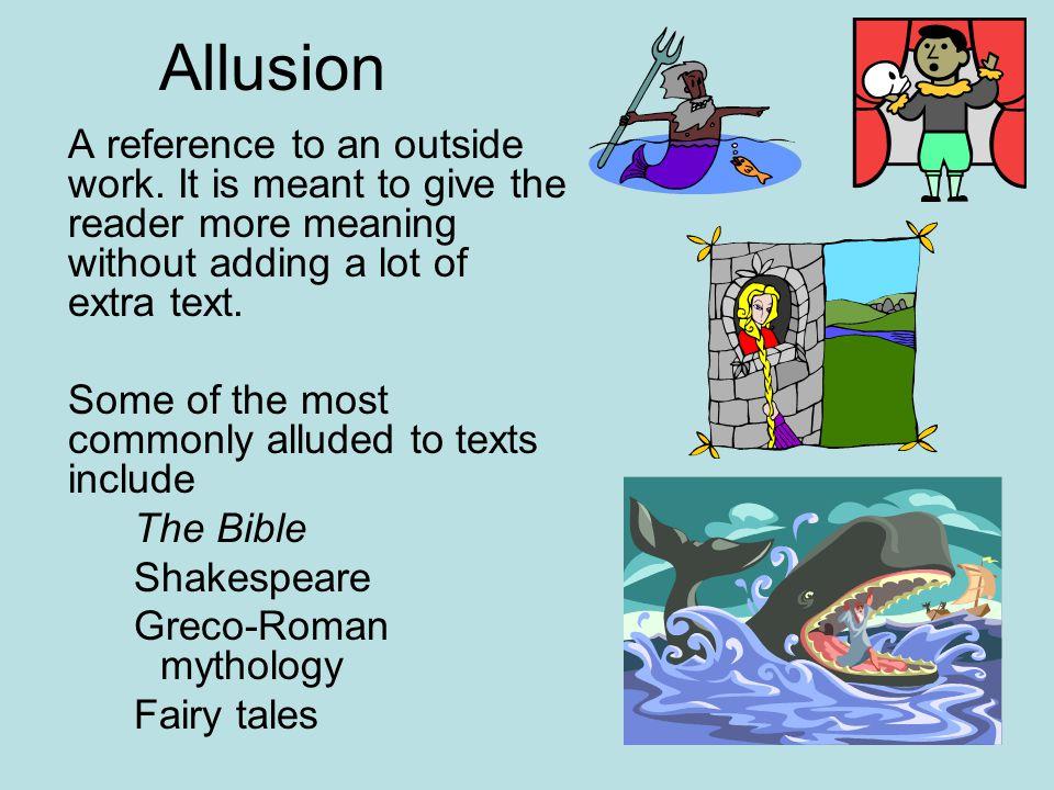 Allusion By Sam - Lessons - Tes Teach