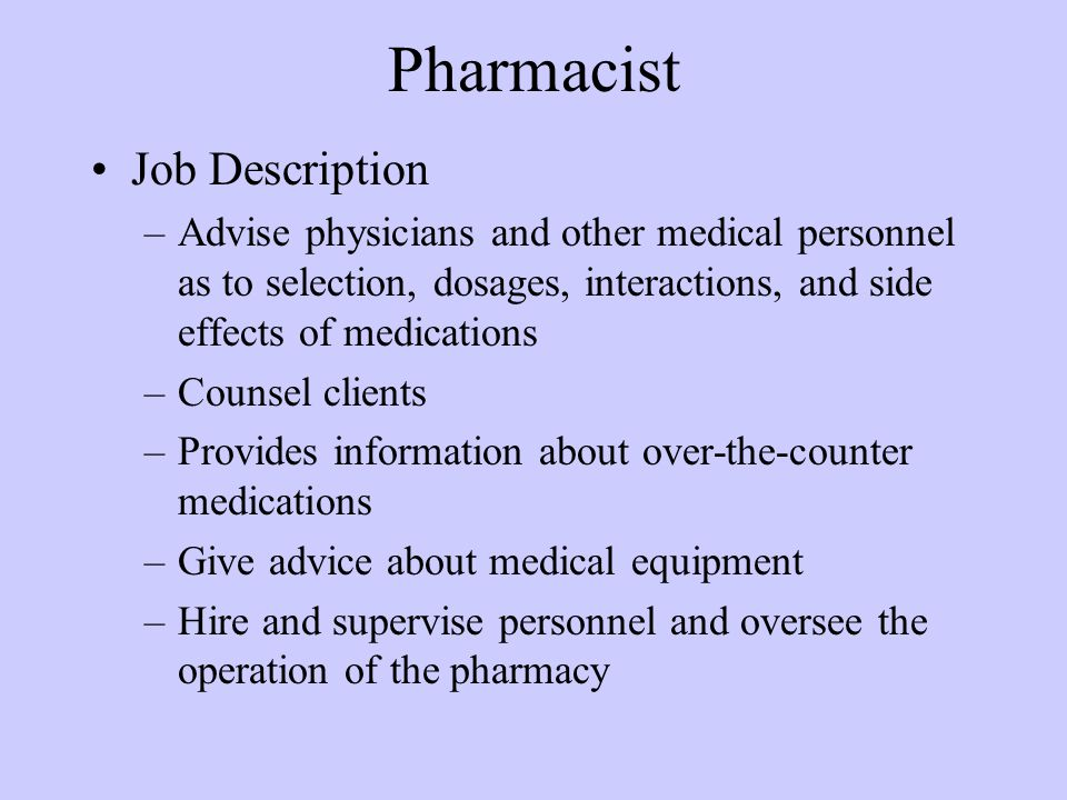 INTRODUCTION TO PHARMACOLOGY - ppt video online download - pharmacist job description