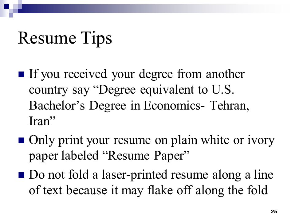 Resume Writing and Interviewing Skills - ppt download - ivory resume paper