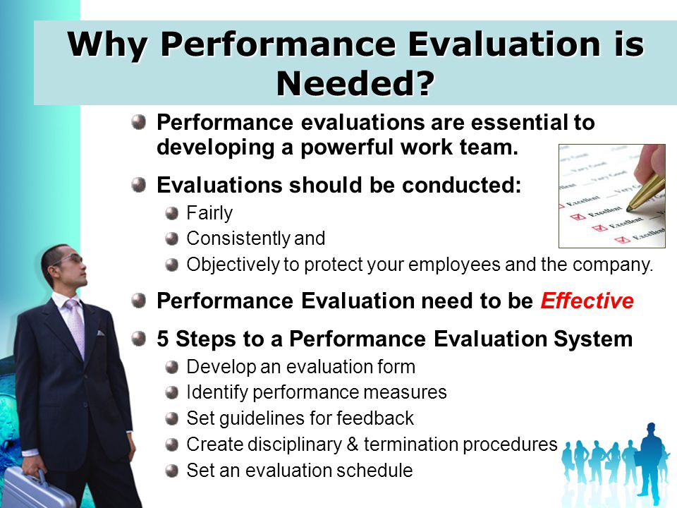 Performance Evaluation performance evaluation - definition, purpose - Effective Employee Evaluation Steps