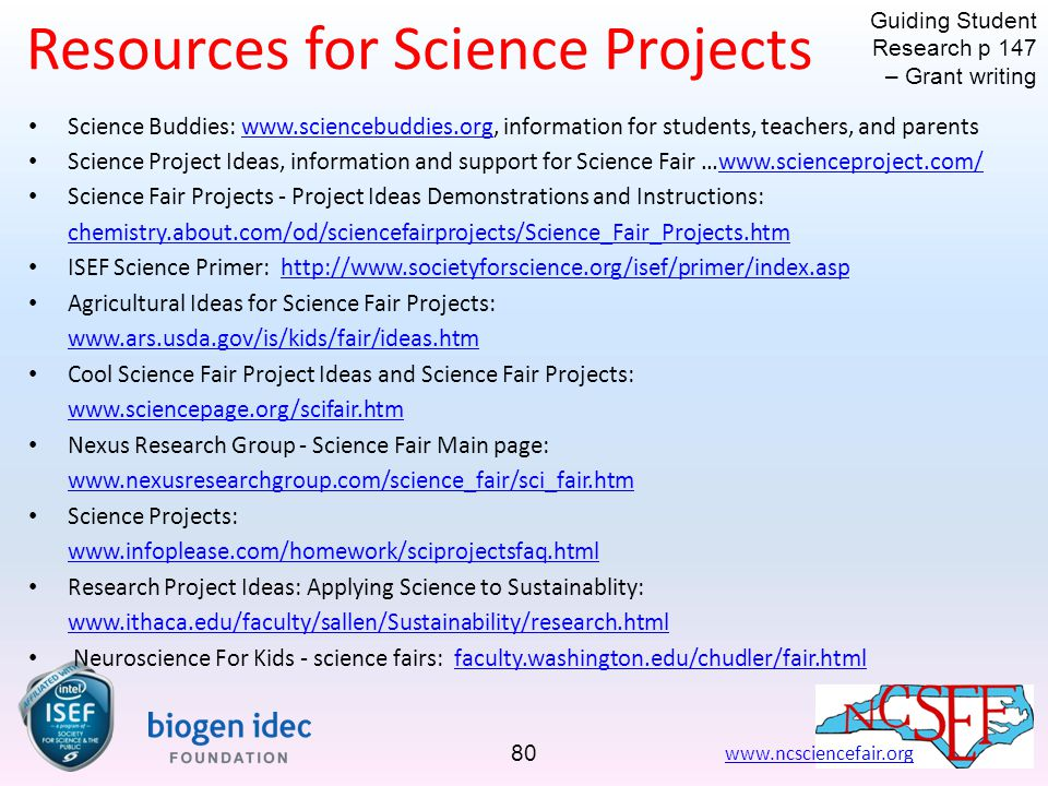 Inspiring Innovation in Student Research - ppt download - science project research