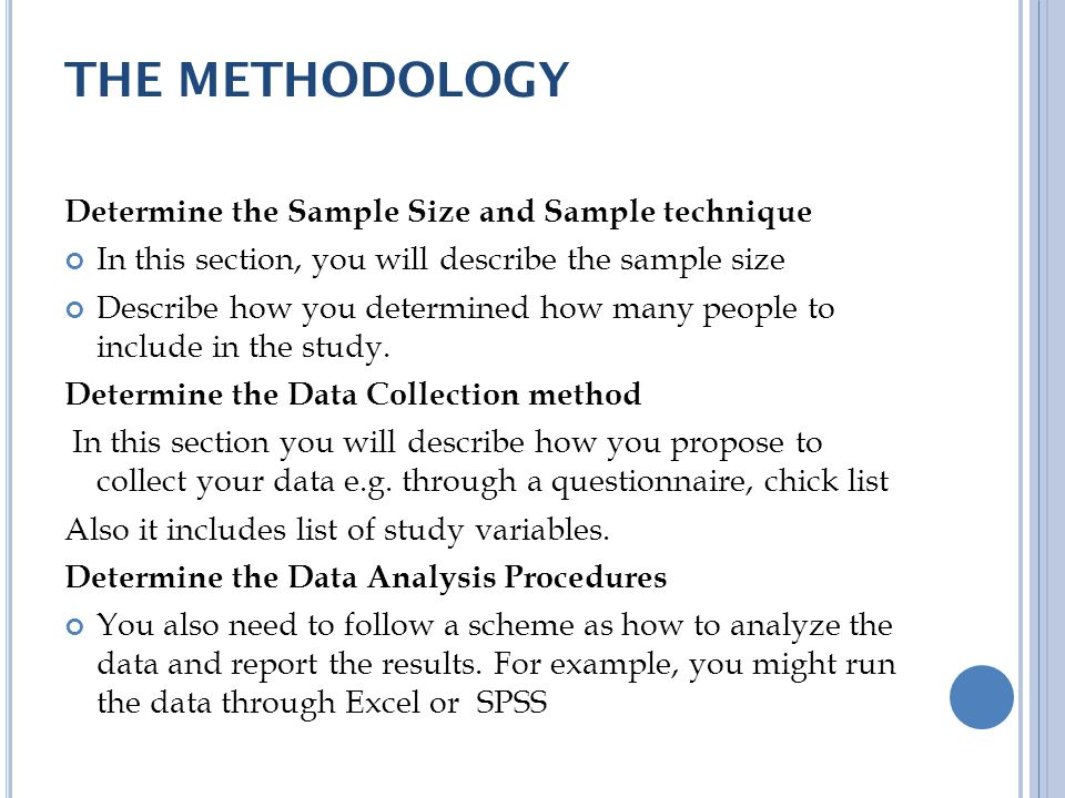 sample methodology - Towerssconstruction