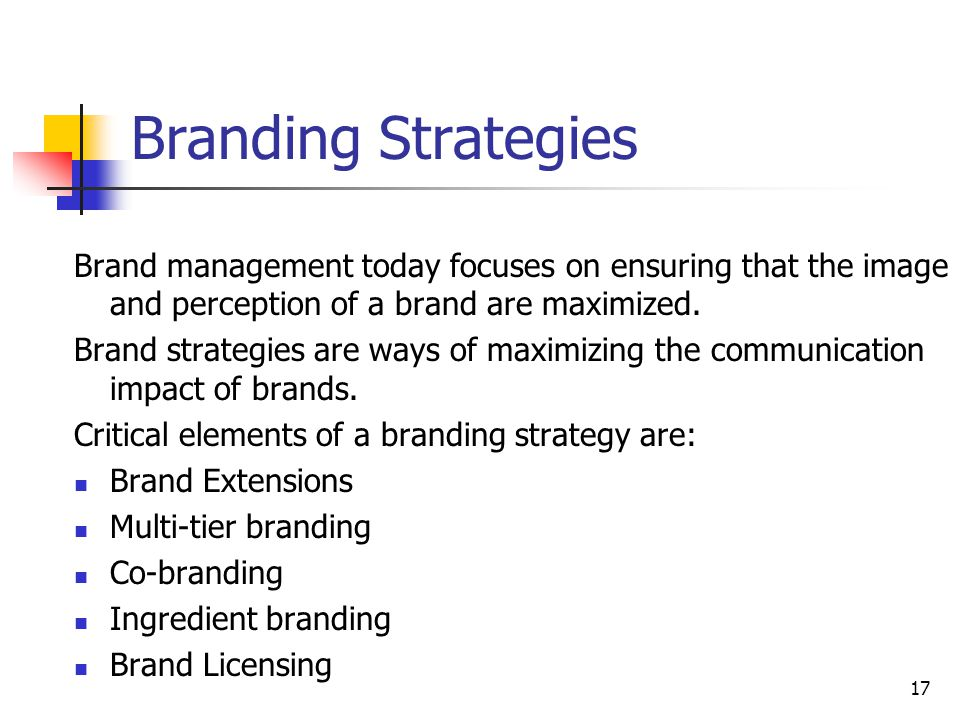 A Perspective on Brands - ppt download