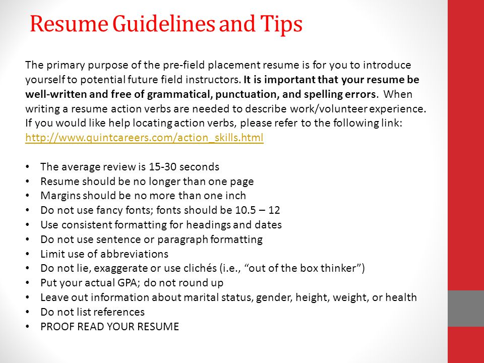 Resume Guidelines04-12-15 Resume With Icd-10-Cm Certification