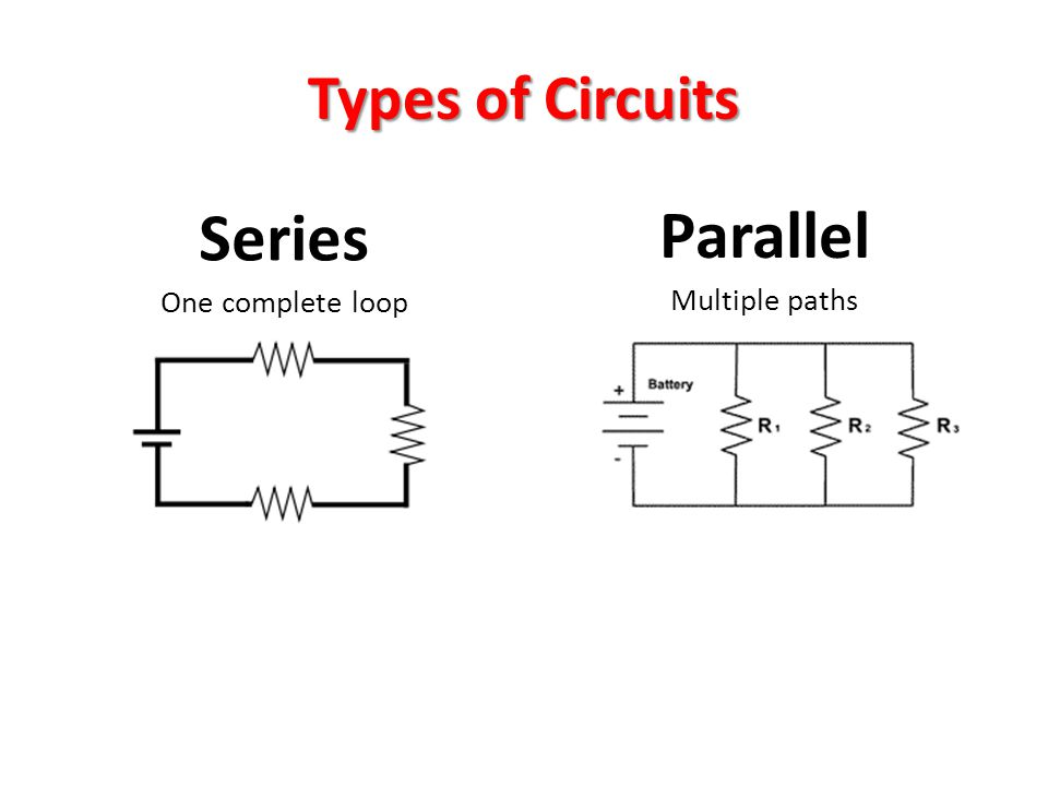 series and parallel circuits series and parallel circuits