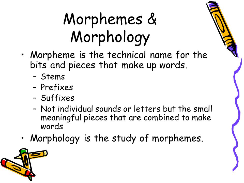 Morphology morpheme and word Research paper Writing Service