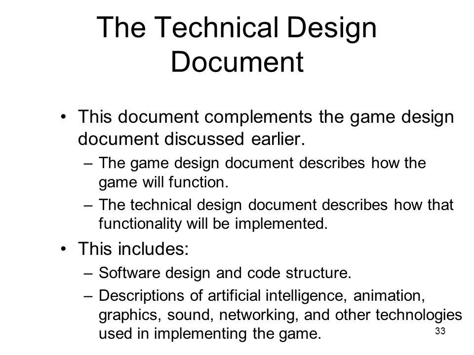 Tech Design Document Template Gallery - Template Design Ideas - game design doent template