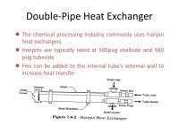Types Heat Exchanger Types Heat exchangers are ubiquitous ...