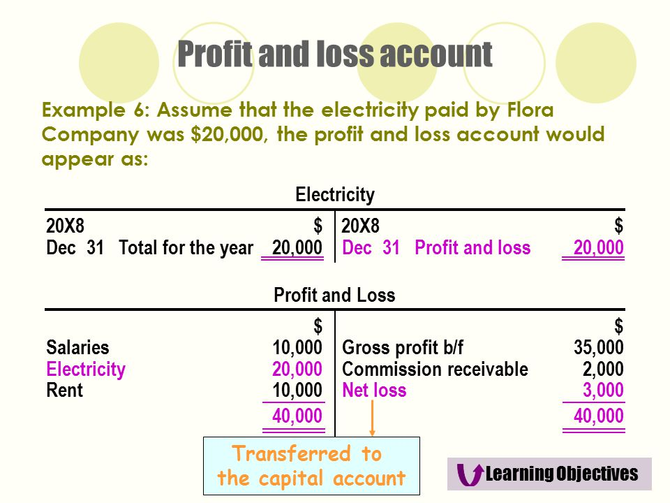 The Trading and Profit and Loss Account and the Balance Sheet - ppt