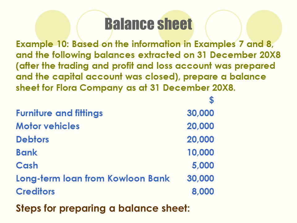 Outstanding Prepare A Balance Sheet Inspiration - Administrative - how to prepare a balance sheet