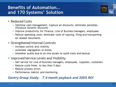 Automation and Optimization of Financial Processes - ppt video online download