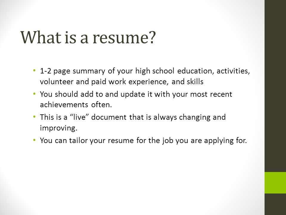 Cover Letter, Resume and References - ppt download - what should be on a cover letter for a resume