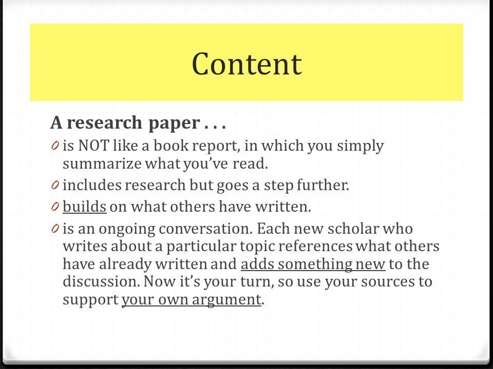The Research Paper \ APA - ppt download - research paper