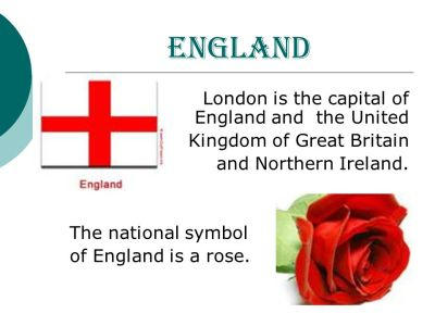 London is the capital of England and the United Kingdom of Great Britain and Northern Ireland ...