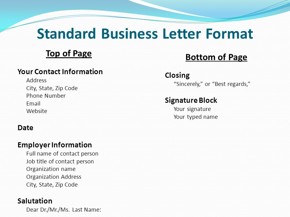 sle standard business letter - 28 images - business letter writing