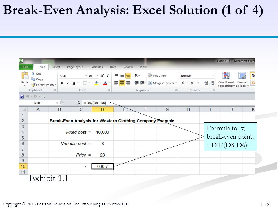 Breakeven analysis excel jobsbillybullockus