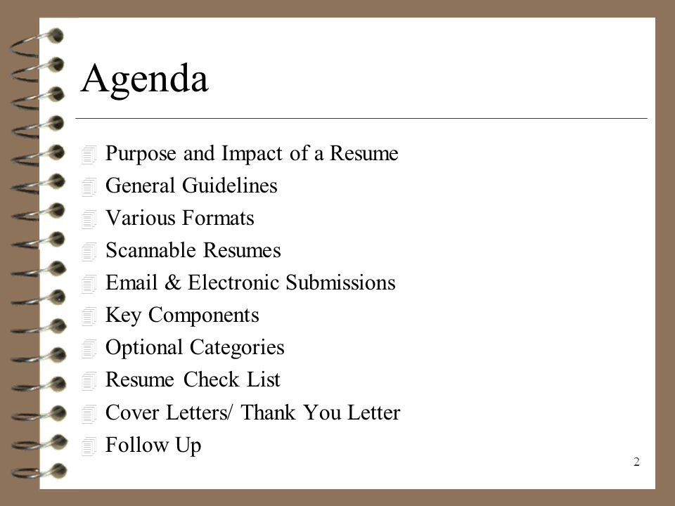 RESUME WRITING Presenting Yourself on Paper - ppt video online download - guidelines for a resume