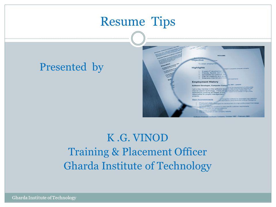 job placement officer resume - Akbakatadhin