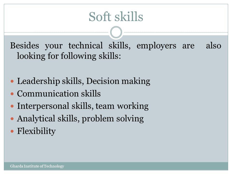 resume problem solving skills