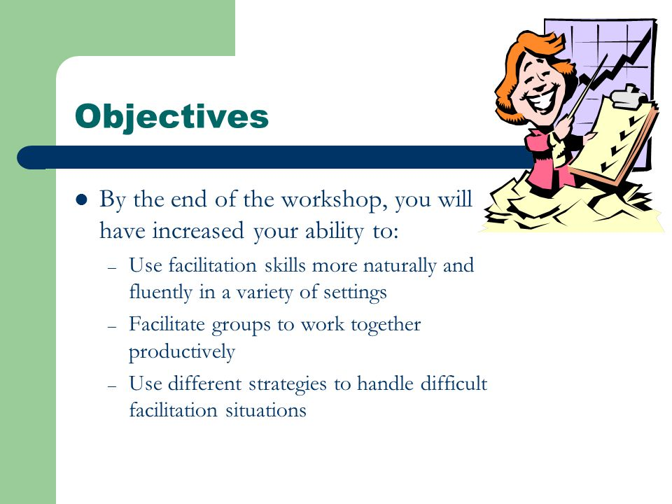 Facilitator Training Program - ppt video online download - How Do You Handle Difficult Situations
