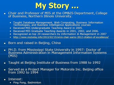 Big Data Issues & Introduction to Business Intelligence Dr. Chang Liu - ppt video online download