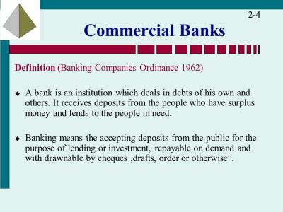 The Financial Services Industry: Depository Institutions ...