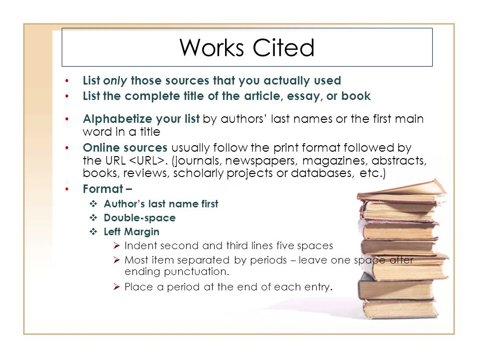 essay works cited in essay citation how to avoid plagiarism when to
