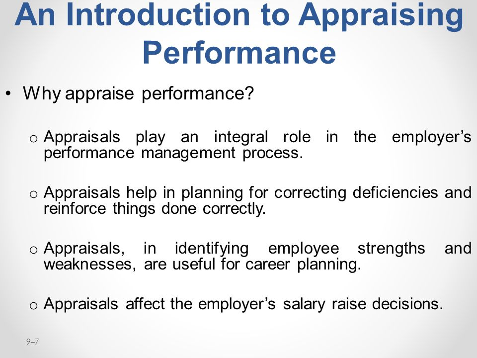 Performance Management and Appraisal - ppt download