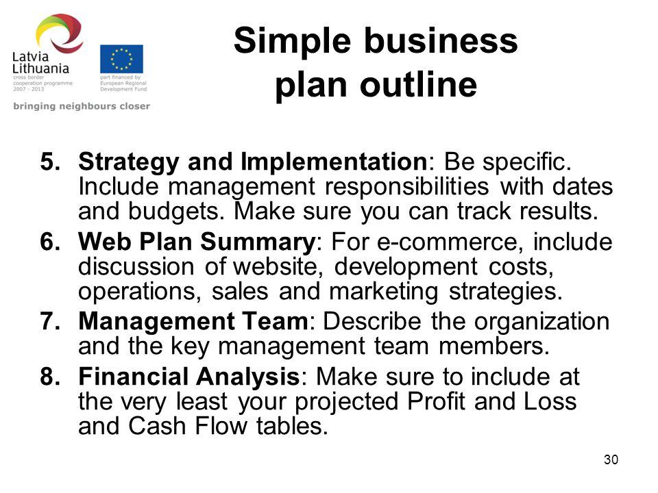 Make a simple business plan longislandyoga