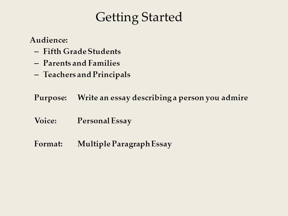 describing a person essay personal essay a person i admire ppt video - people i admire essay