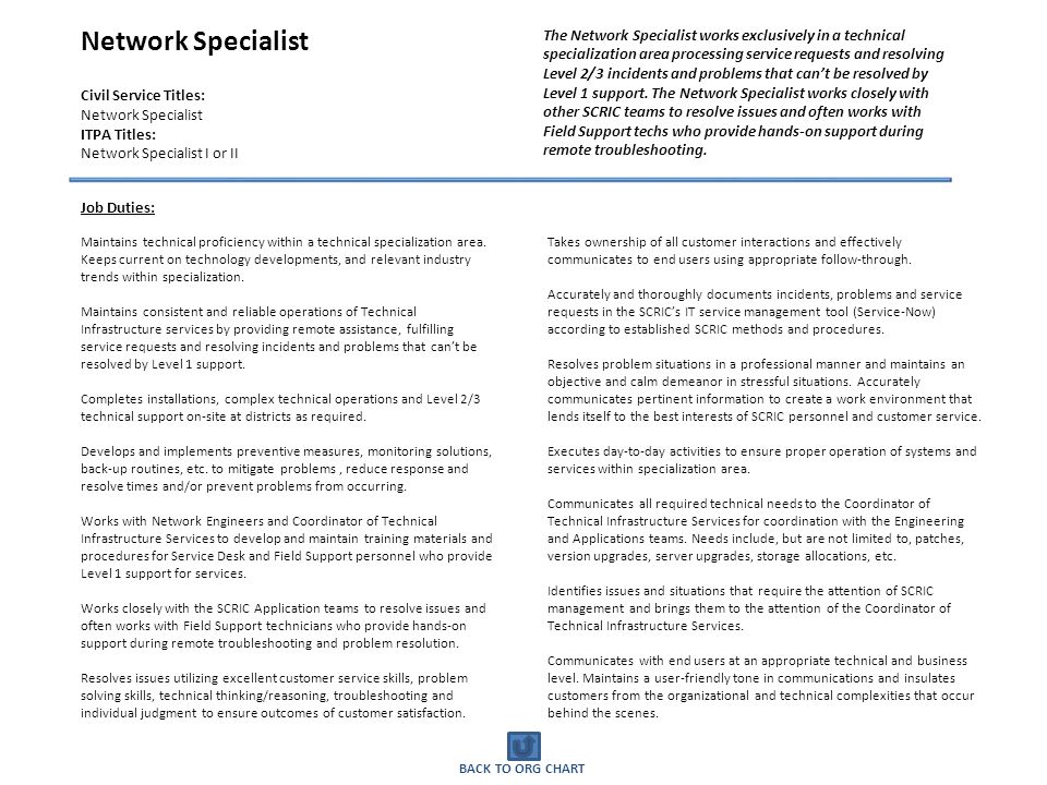 network specialist job description - 28 images - social media job