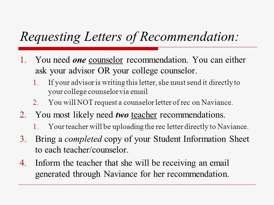 naviance letter of recommendation - Onwebioinnovate - college recommendation letter