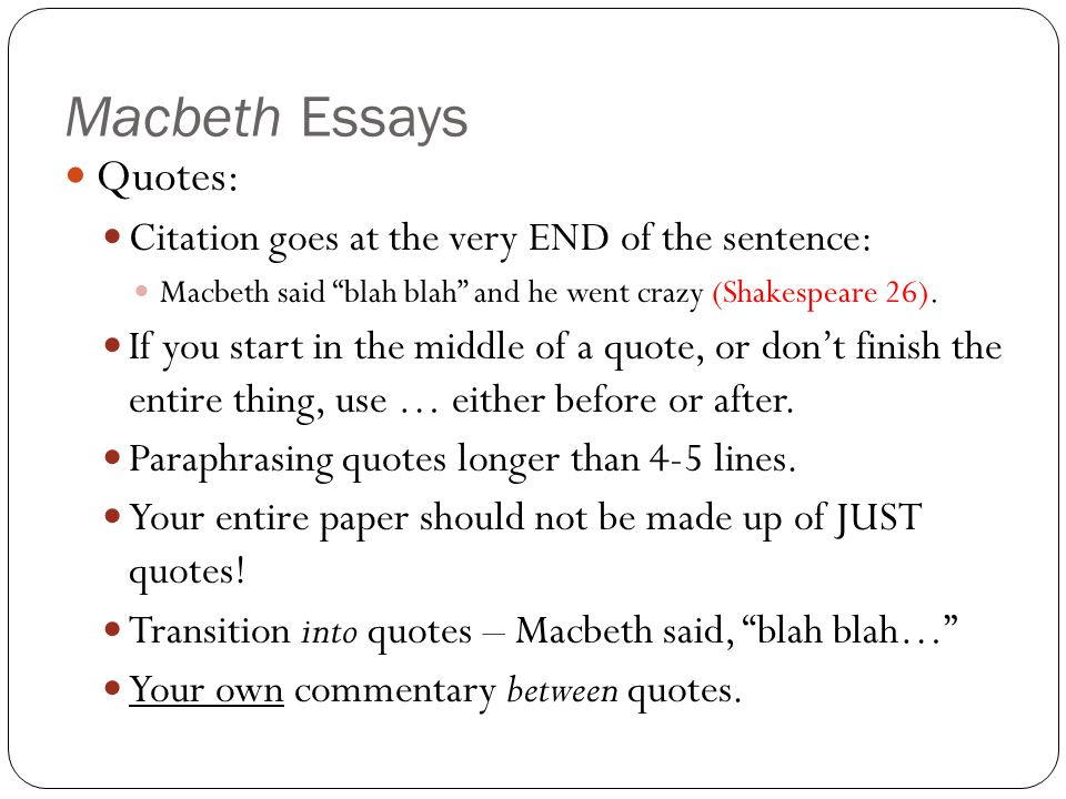 essay macbeth macbeth essays introduction paragraph ppt video online