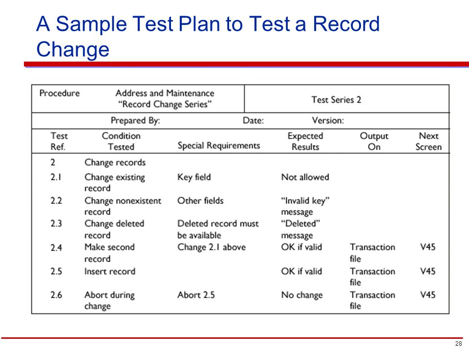 Redesigning The Organization With Information Systems   Ppt Video   Sample  Test Plan