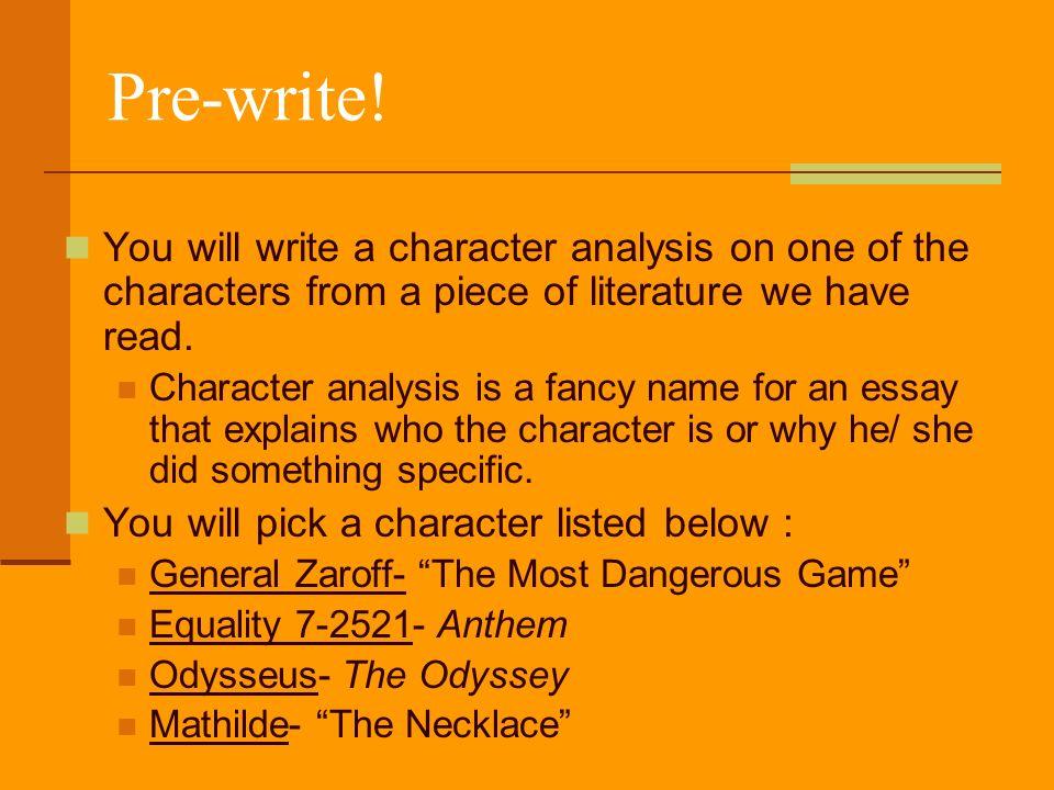 essay map read write