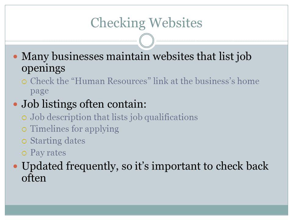 job websites list - Minimfagency